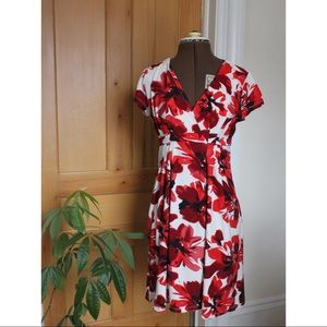 Stunning Poppy Flower Cocktail Dress